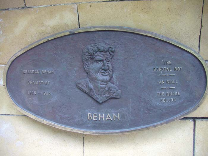 Brendan Behan Plakette