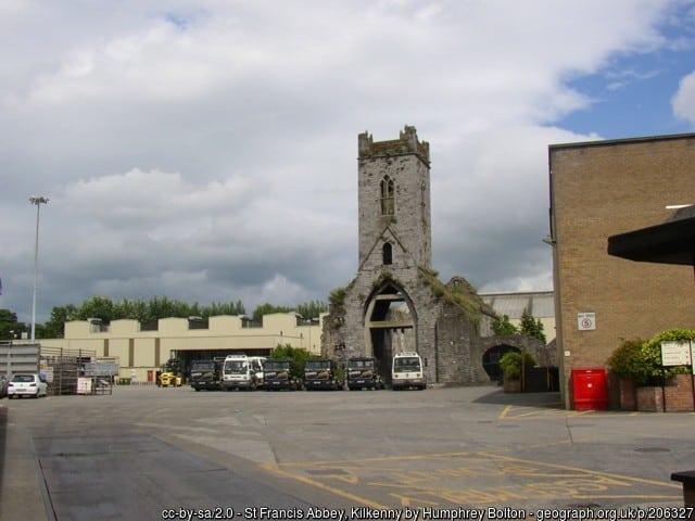 St Francis Abbey, Kilkenny