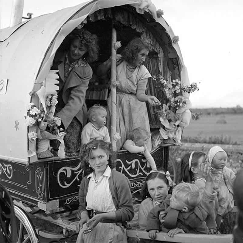 Traveller-Familie