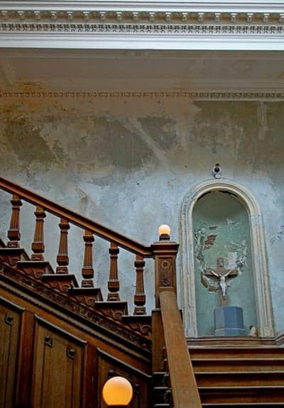 Loftus Hall Treppe