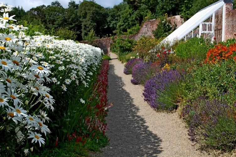 Colclough Garden Tintern Abbey Wexford