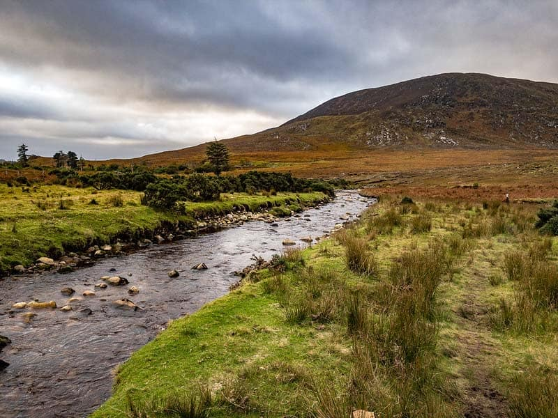 ballycroy nationalpark fluss