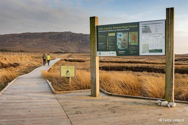 ballycroy nationalpark wanderweg