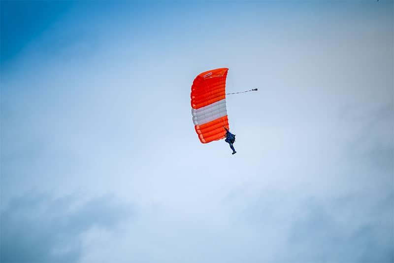 Fallschirmspringen Irland
