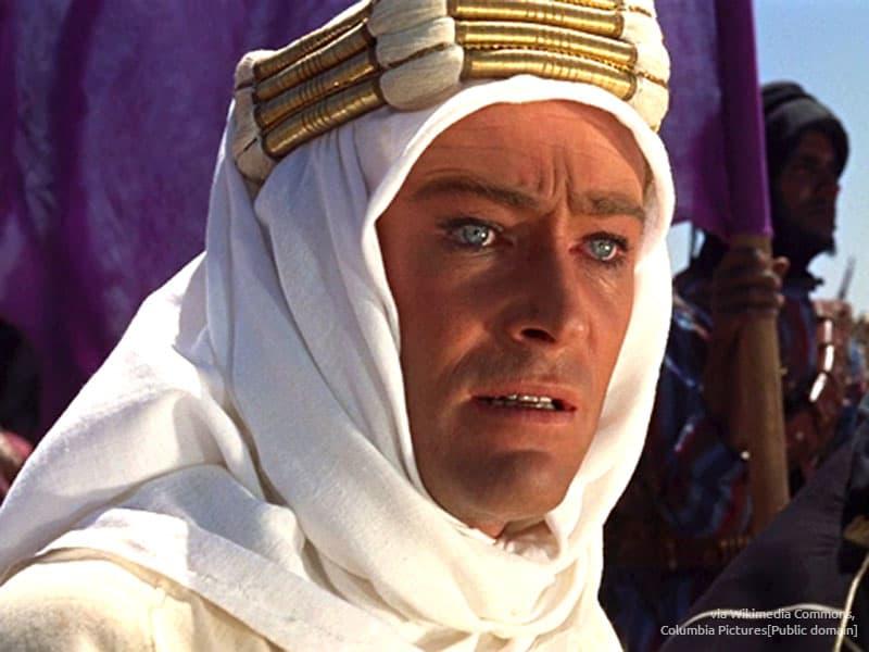 Peter O'Toole als Lawrence von Arabien