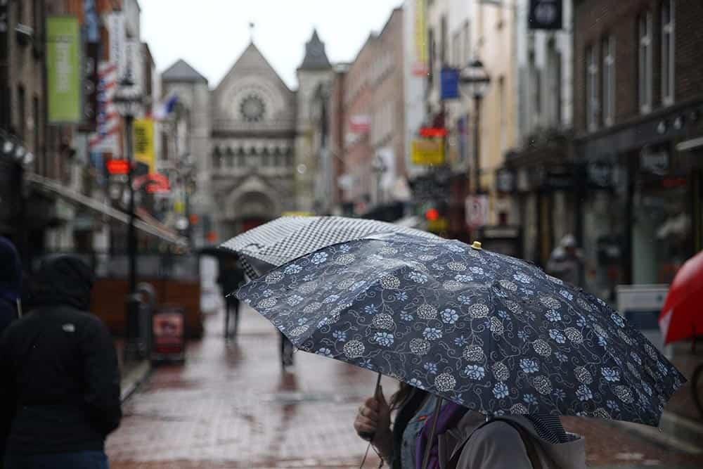 Regen in Dublin
