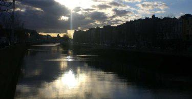 Irlands Flüsse Liffey