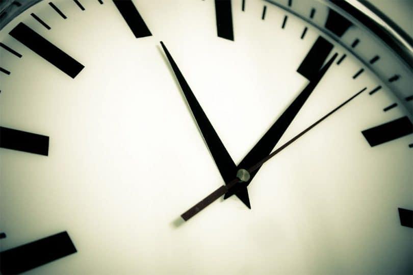 Uhrzeit in Irland