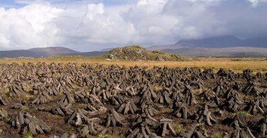 Irland Torf Connemara