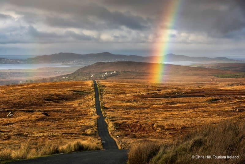 Irland bei Regen