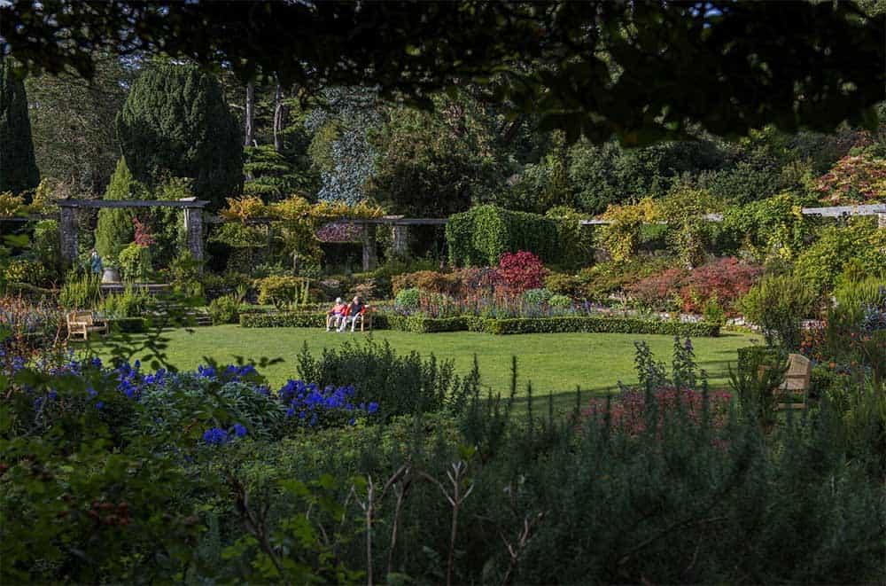 Mount Stewart Garten