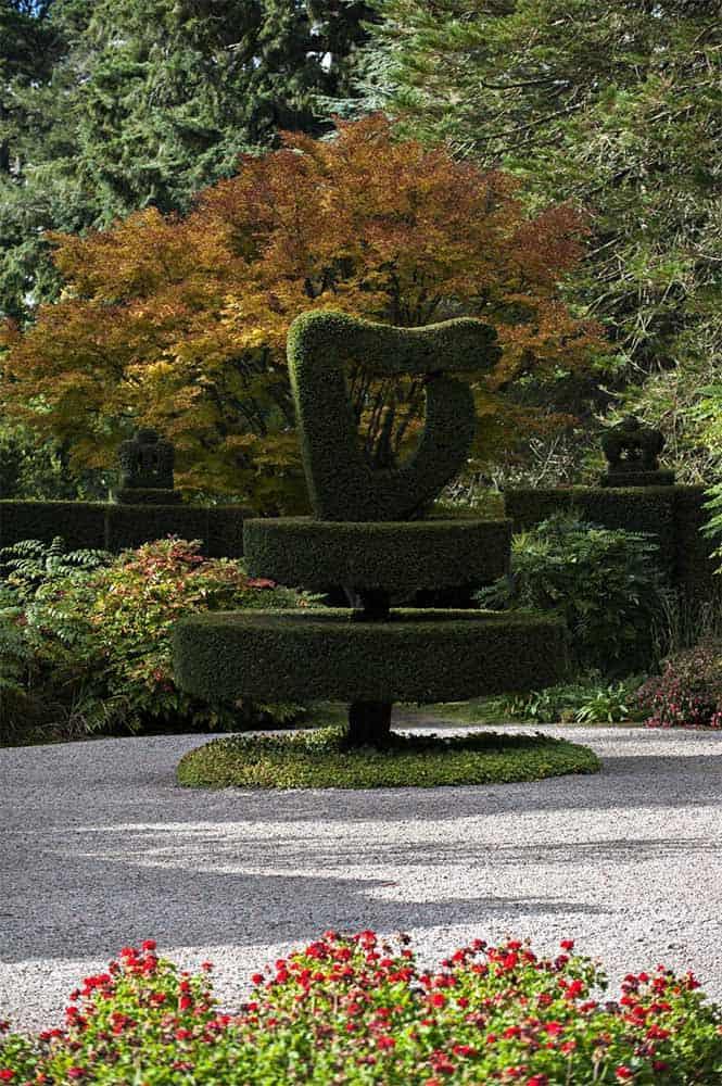 Mount Stewart Shamrock Garten
