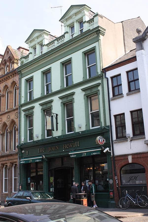 The John Hewitt Bar Belfast
