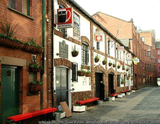 The Duke of York Bar Belfast
