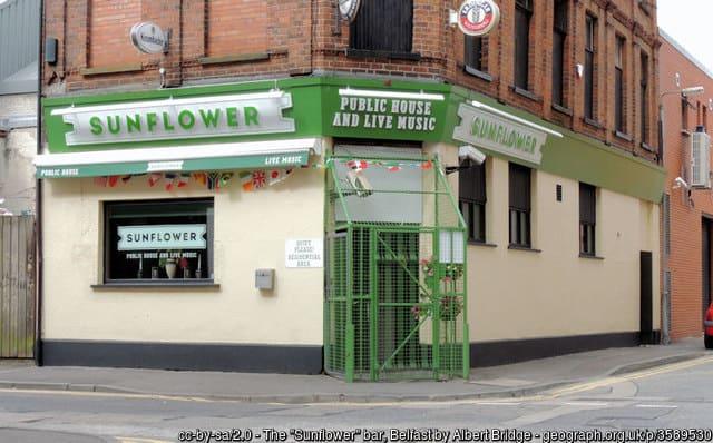 The Sunflower Bar Belfast