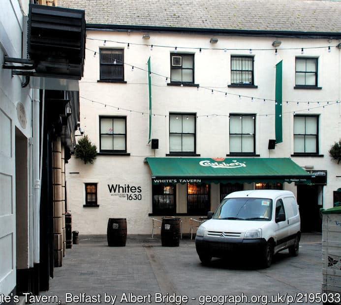 White's Tavern Belfast
