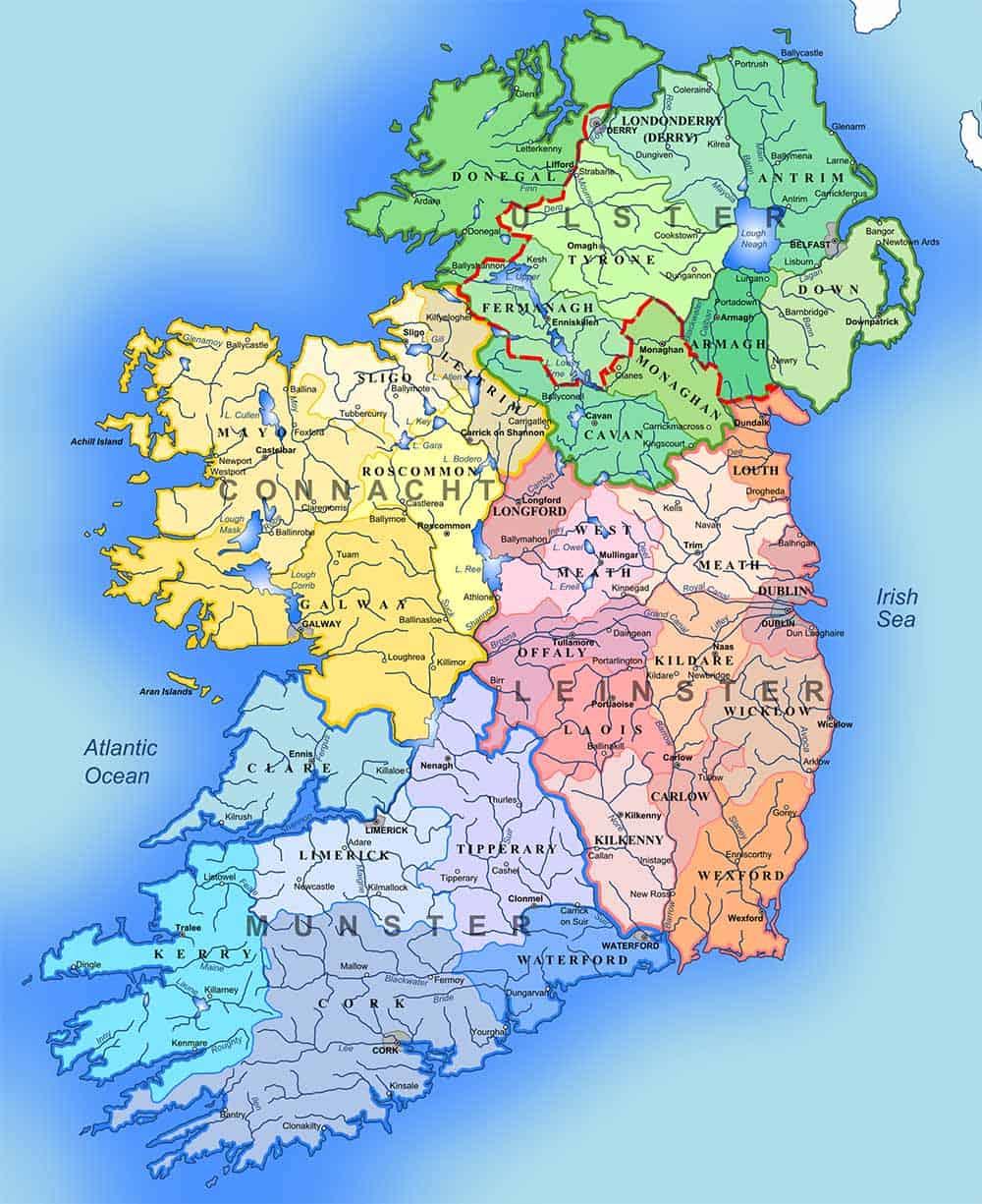 Irlands Countys