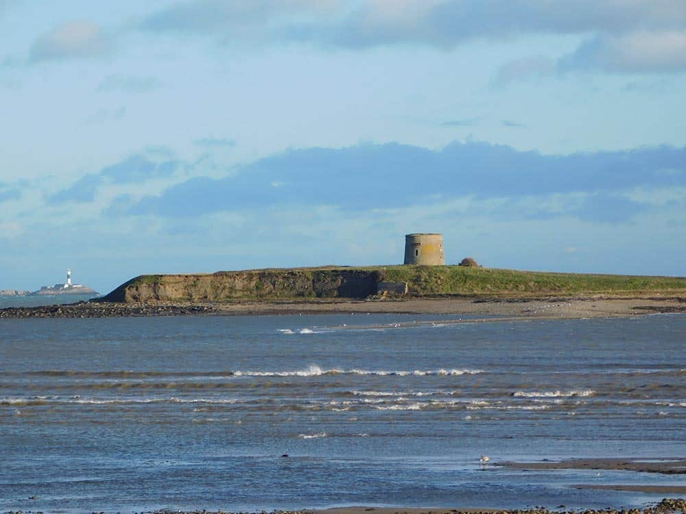 Martello Tower Sutton in Dublin image in Nature and Landscapes category at pixy.org