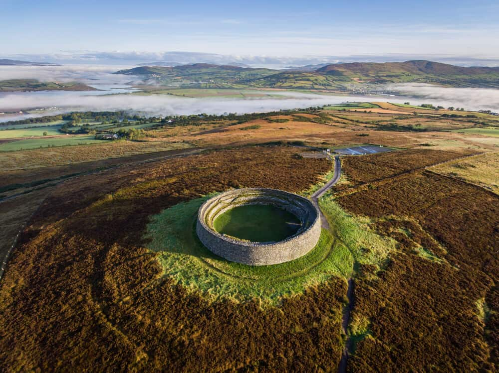 Ringforts in Irland