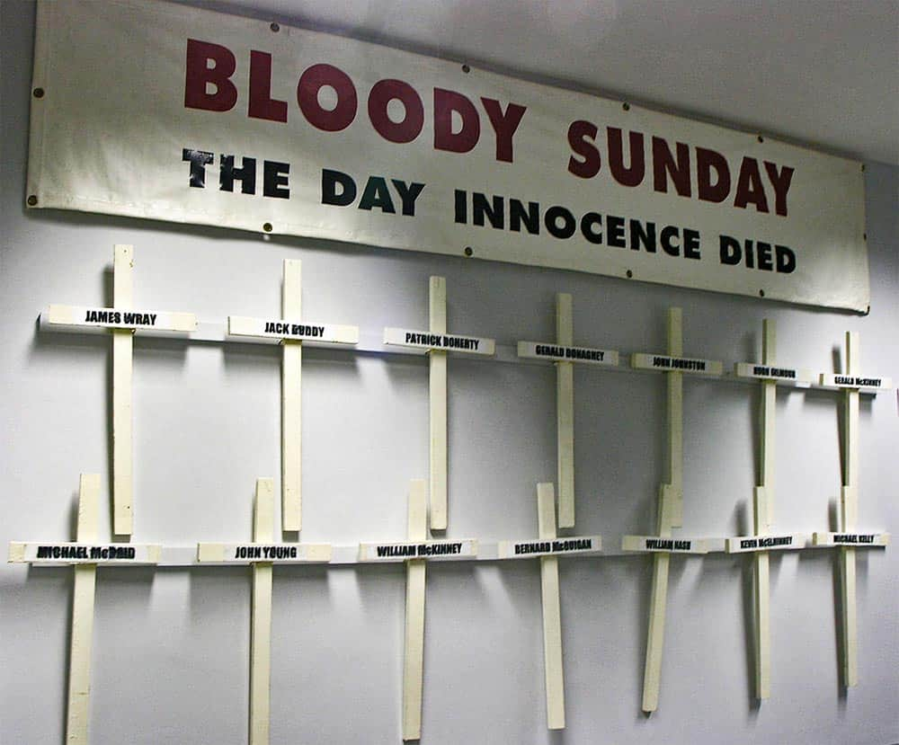 Bloody Sunday Tote