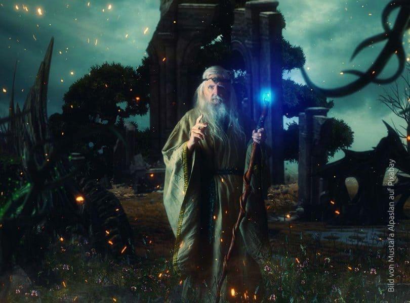 Irische Druiden
