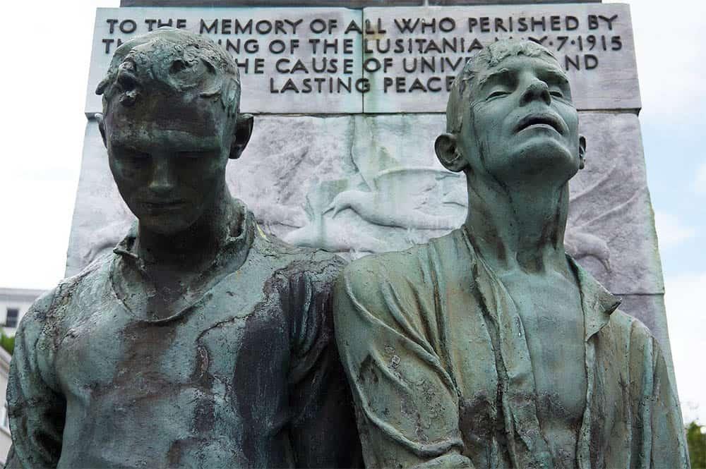 Lusitania Denkmal Cobh