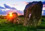 Irlands Steine und Felsen
