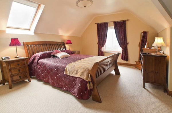 b b irland olwyn 39 s lodge bed and breakfast doolin co clare gruene die irland. Black Bedroom Furniture Sets. Home Design Ideas