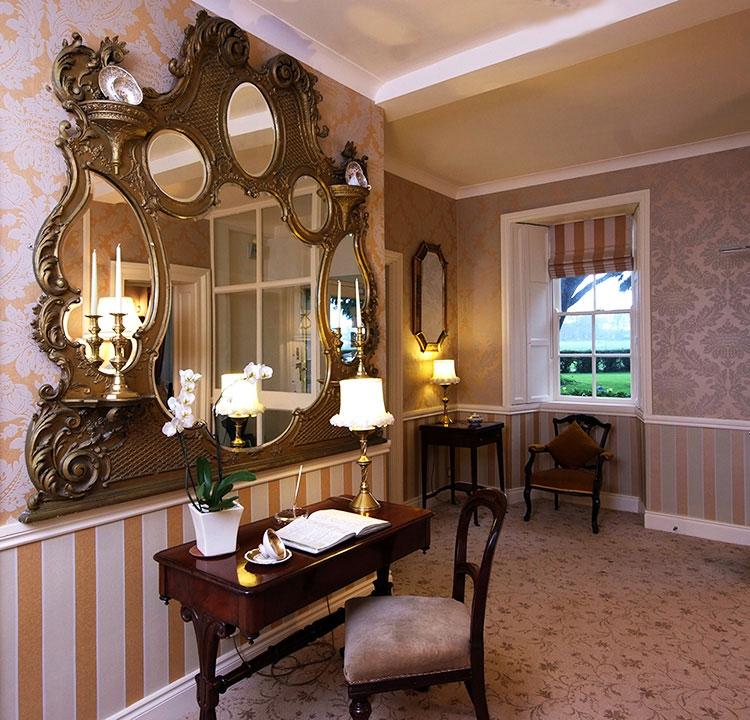 b b irland killiane castle country house farm drinagh co wexford gruene die. Black Bedroom Furniture Sets. Home Design Ideas
