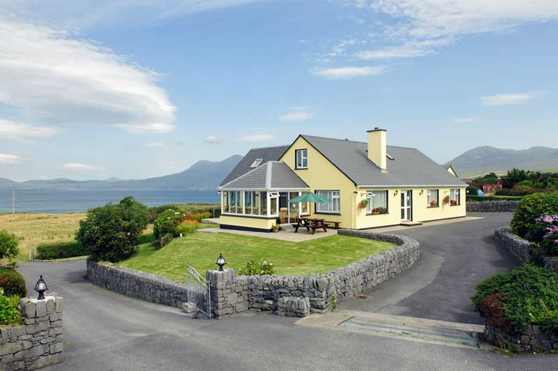 b b irland noreens bed and breakfast renvyle co galway gruene die irland experten. Black Bedroom Furniture Sets. Home Design Ideas