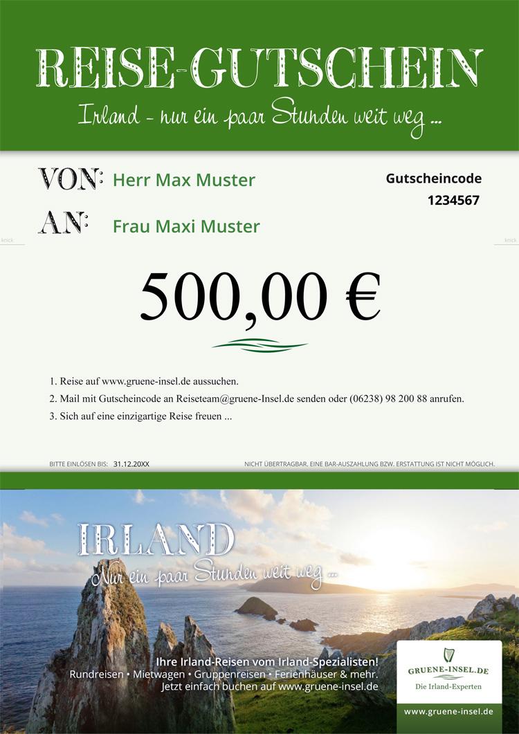Irland Reisegutschein