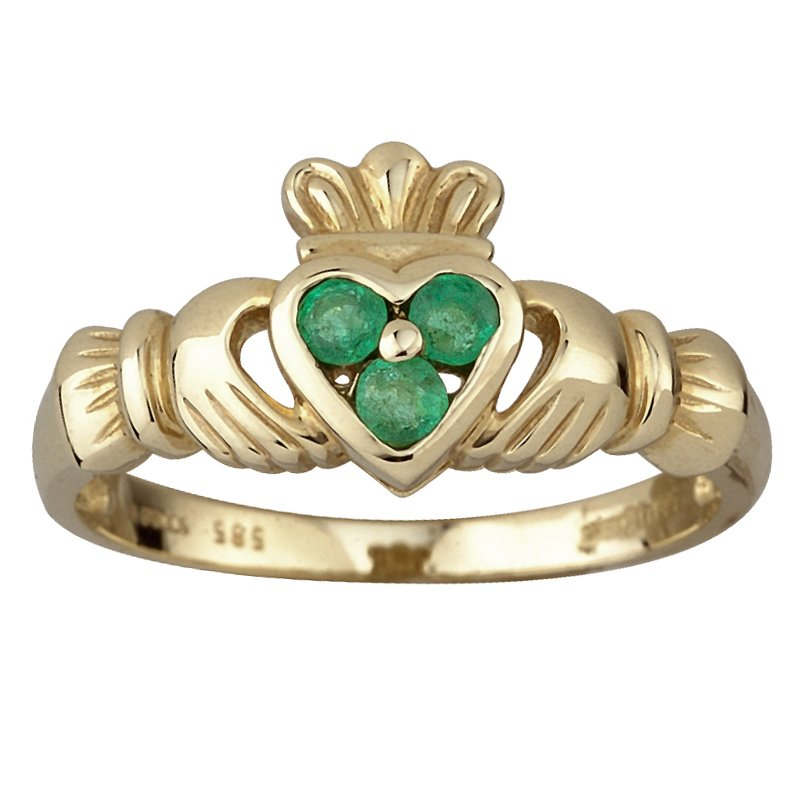 Gemeinsame Claddagh-Ring, Gold | gruene-Insel.de #SQ_45